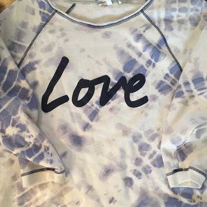 Victoria's Secret Tye Dye Sweatshirt Large